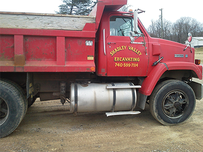 Shadley-valley-excavating-truck